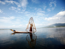 File photo of Inle Lake.
