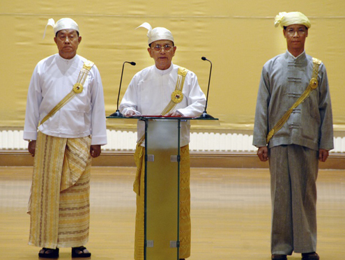 thein sein and VPs