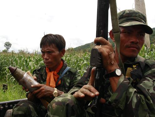 DKBA renegades ambush govt troops in Karen State
