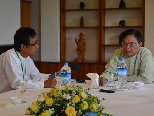 Aung Kyi: 'There are a lot of difficulties'
