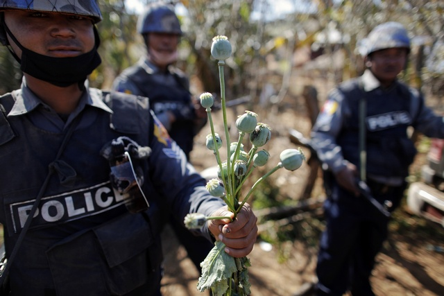 Drug woes in Burma may spur on peace