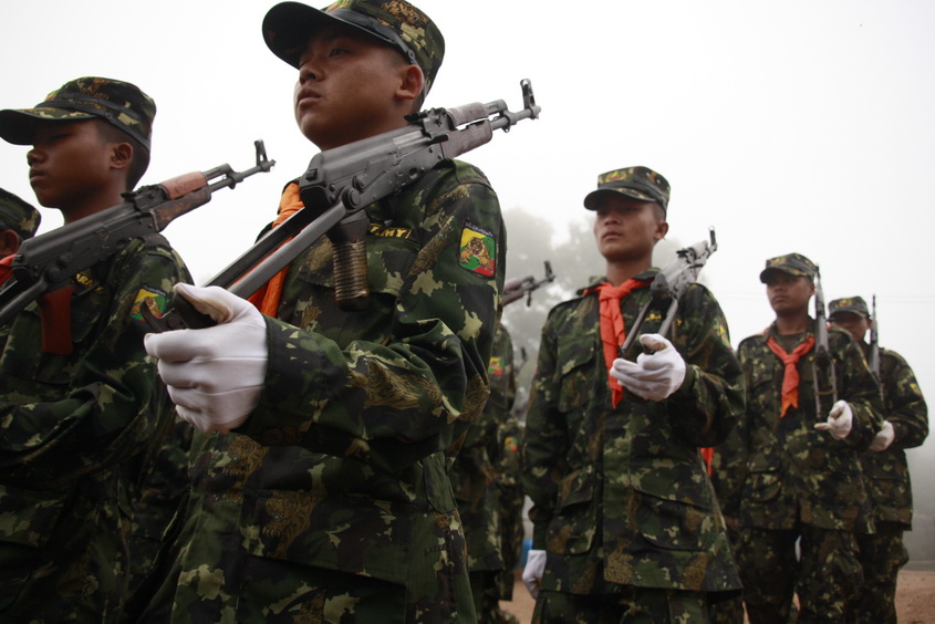 Fighting breaks out between Pa-O and Shan armies