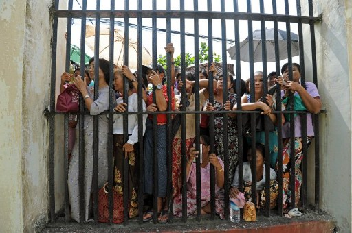 Burma has fallen short on political prisoners, say rights groups