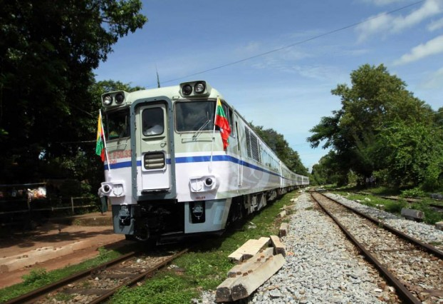 The new Rangoon - Kyaiktiyo express