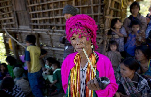 Myanmar Portraits Tribes in Transition