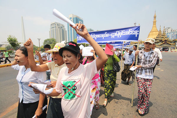 2MayDay-Worker-Strike-for-Right01052014YGN