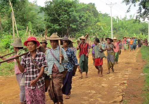 Karenni farmers say they cannot afford $4 annual tax