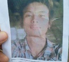 "A ""wanted"" poster released for murder suspect Hla Min Aung in Thailand. (PHOTO: DVB)"