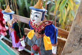 Burmese puppetry in Bangkok