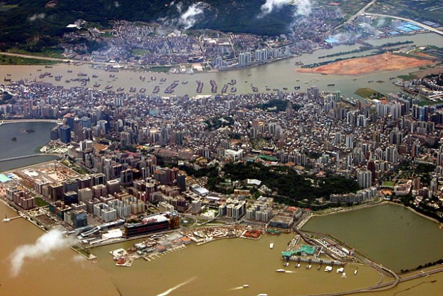 Macau peninsula (PHOTO: wikicommons)
