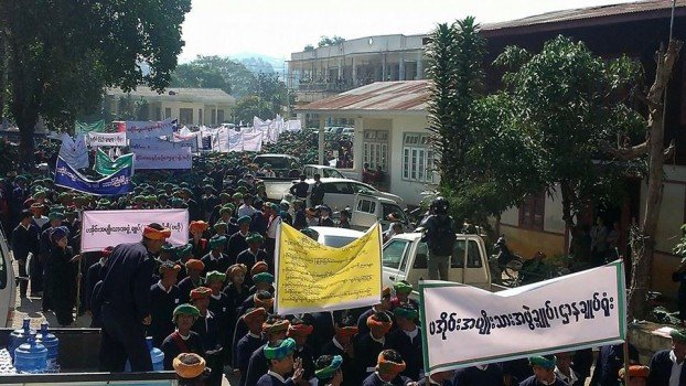 Shan State citizens rally for peace and ethnic rights