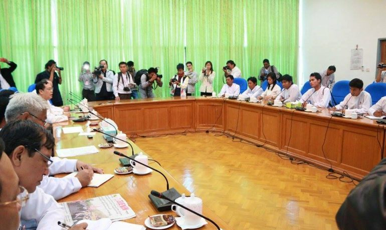 Ministers agree to dialogue with students on Education Law