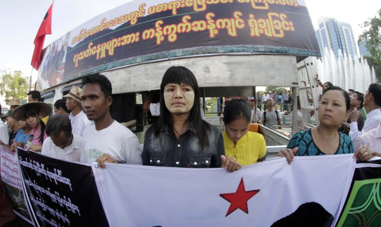 Official probe launched into Latpadaung killing