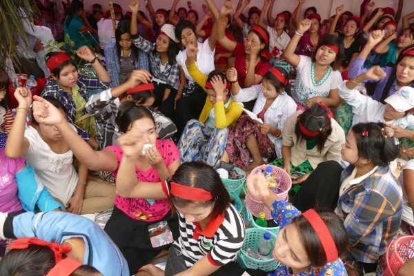 Sit-in held at Taiyi factory despite govt threats