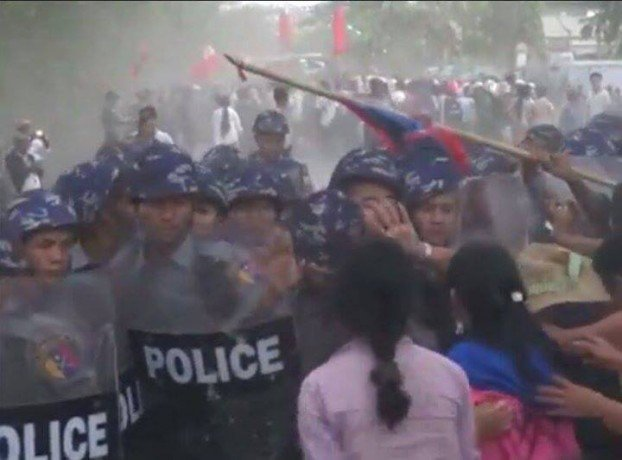 Shwepyithar strike leaders face charges