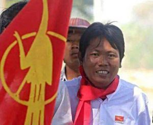 Nanda Sitt Aung (DVB file photo)
