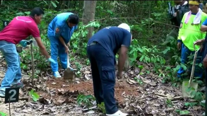 Another mass grave found in Malaysia