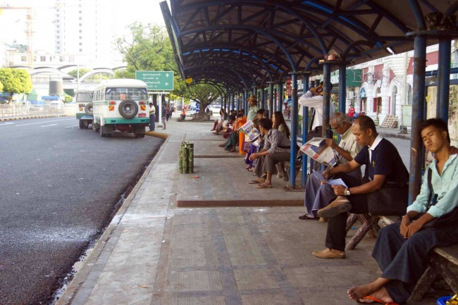 New options for Rangoon commuters?
