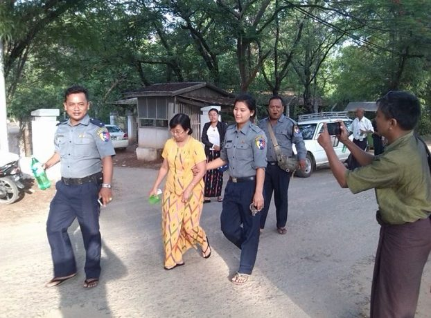 Female activists sentenced for prayer session in Mandalay
