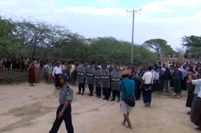 Monk's funeral descends into village brawl
