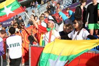 Myanmar at the FIFA U-20 World Cup (Photo - Myanmar Football Federation).