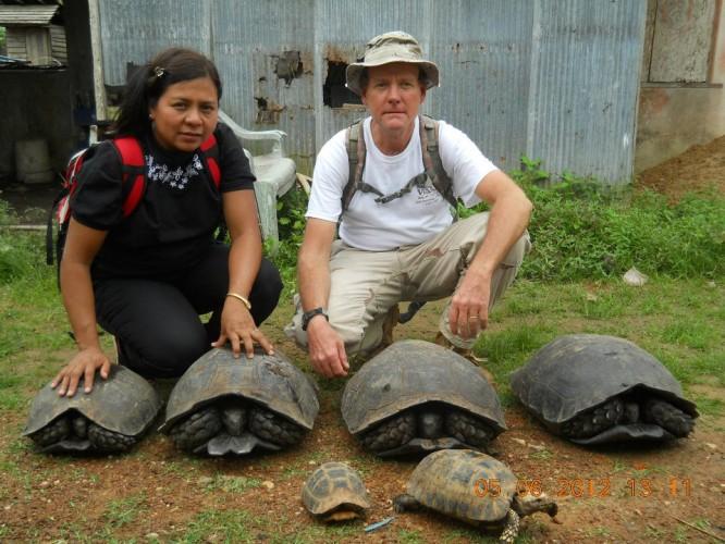 Dr Kalyar Platt has been rewarded for her conservation efforts in Burma. (PHOTO: TSA).