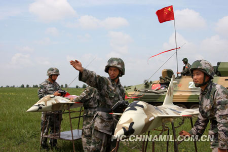 Chinese military show of force 'nothing to worry about'
