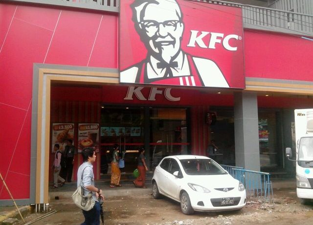 Colonel Sanders comes to town