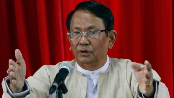 Hardliner Aung Thaung dies in Singapore