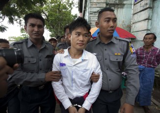Saw Myint Lwin will now be serving a lifetime behind bars. (PHOTO: DVB).