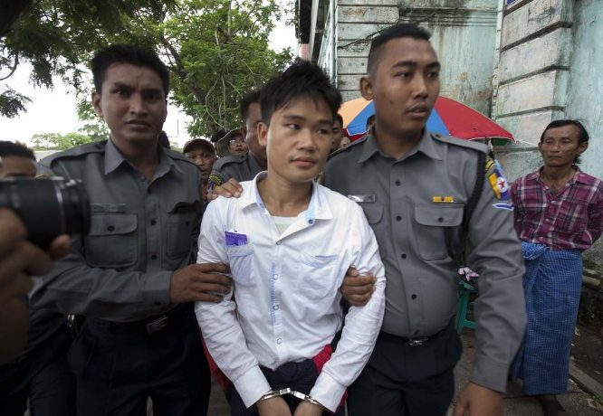 Trader's bomber sentenced to life in jail
