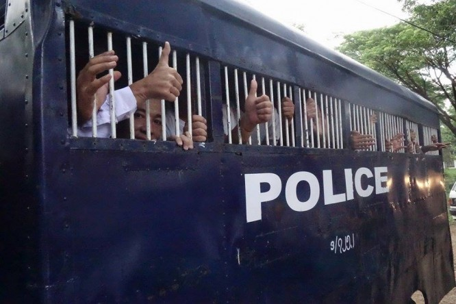 More jailed students hospitalised