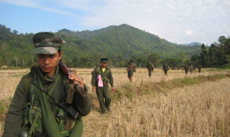 Armed clashes flare in Kachin and Shan states