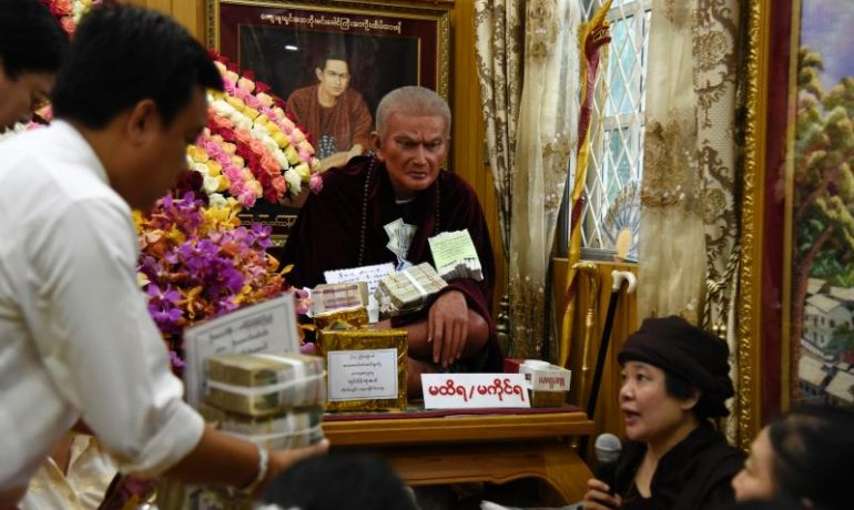 Burmese faith in omens, numbers, spirits eclipses political leanings
