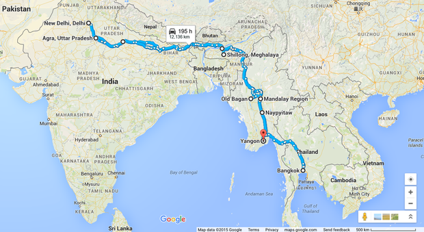 The ultimate Asian Highway road trip