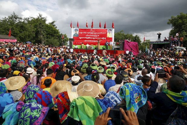 Suu Kyi reiterates call for 'Second Panglong'