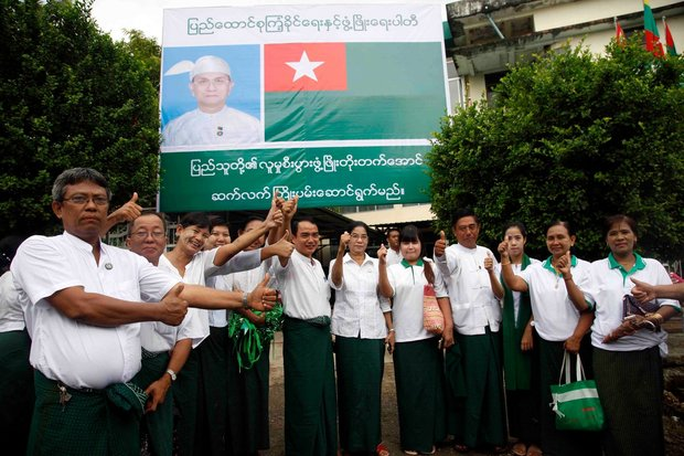 Monks are helping USDP, says NLD candidate