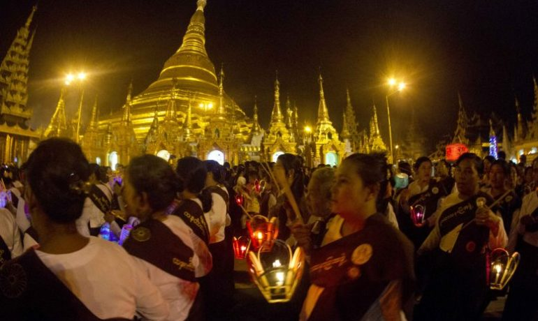 Banking on Shwedagon
