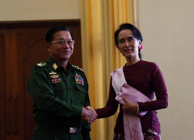 Suu Kyi settling into realpolitik