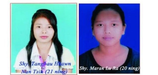 Tangbau Hkawn Nan Tsin (21) and Maran Lu Ra (20), victims of a brutal murder in northern Shan State (Photo: Lachid Kachin)