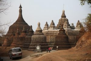 A Buddhist pagoda complex in Mrauk-U. (Photo: Thin Lei Win / Myanmar Now)