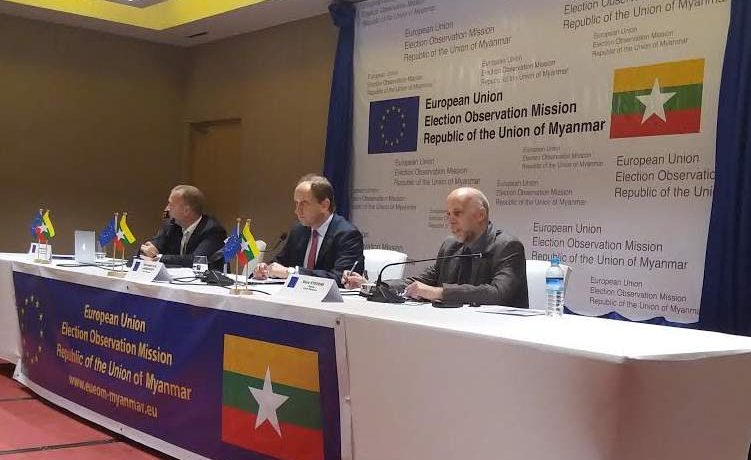 Election a 'success' but fell short in key areas, say EU observers