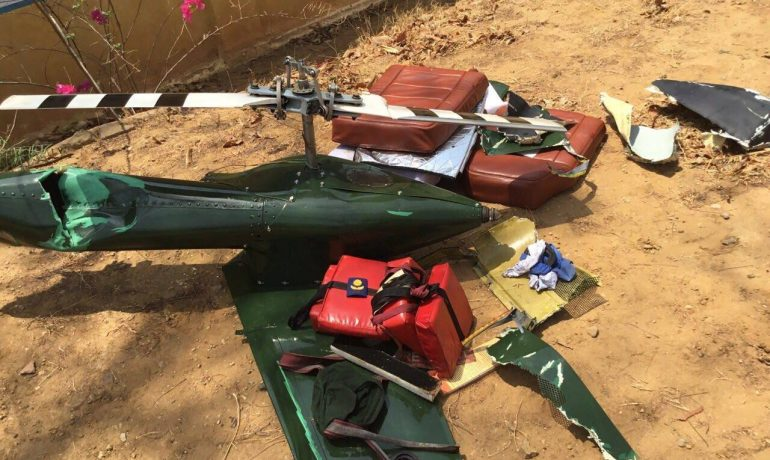 Air Force helicopter crashes near Meikhtila