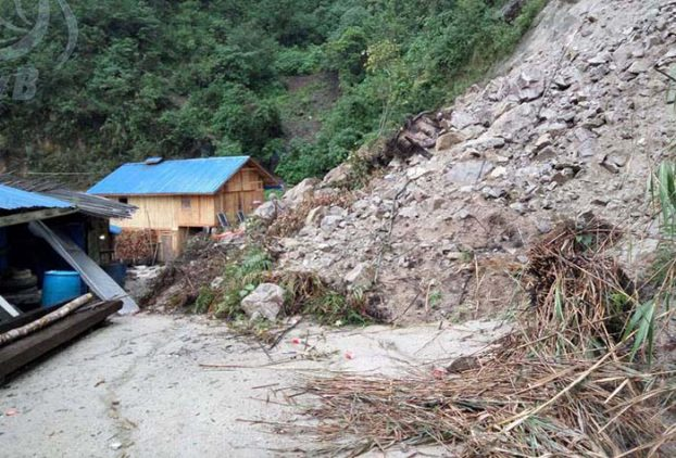 Three months after landslide, Kachin villagers running out of food