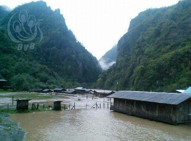 Landslides in Kachin State cause food shortages