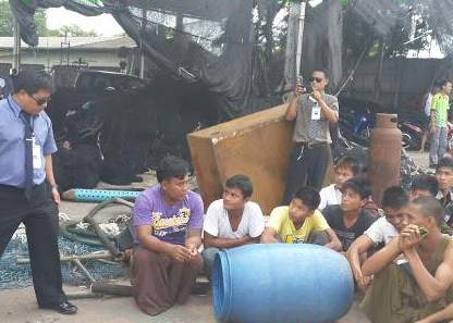 Rescued workers face months in detention