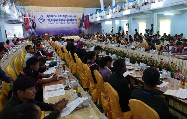 Ethnic leaders agree on 8 principles for a federal Burma