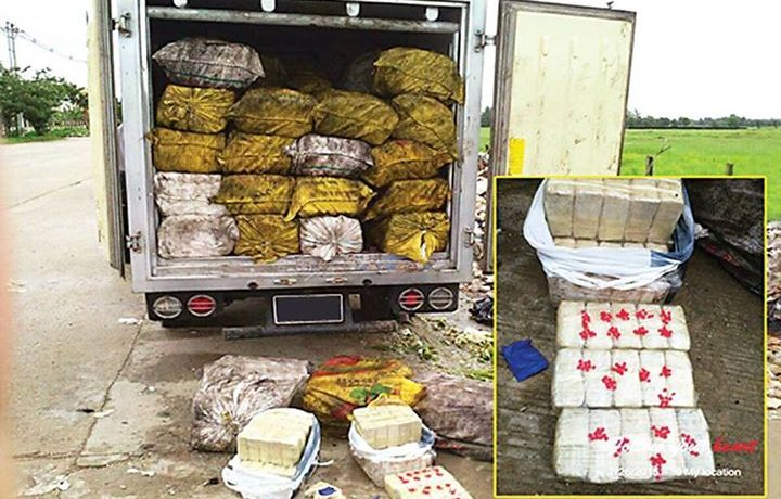Suspects in massive drug haul still at large: police
