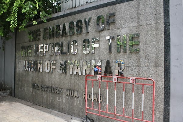 Embassy responds to dispute with migrant group