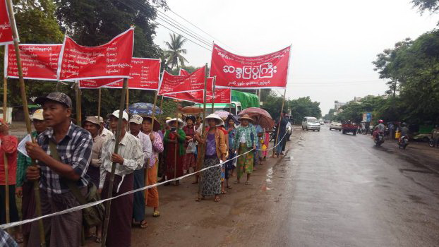 Sagaing farmers call for compensation, closure of nickel mine